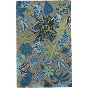Blooming Hand-Tufted Fawn Area Rug