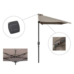 2.7m Square Traditional Parasol By Freeport Park