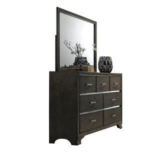Anadolu 7 Drawer Double Dresser with Mirror