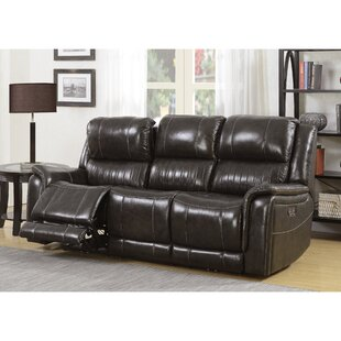 Guineau Leather Reclining ..