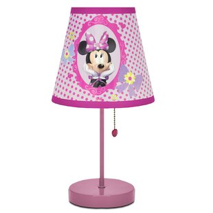 Mickey mouse lamps wayfair minnie mouse 20 table lamp aloadofball Images