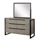 Lorraine 6 Drawer Double Dresser by MYCO Furniture