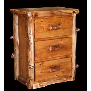Amias 3 Drawer Nightstand by Millwood Pines