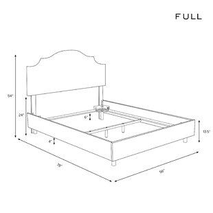 Revley Upholstered Standard Bed