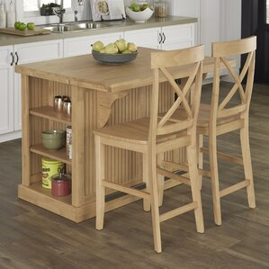 Rabin Kitchen Island Set by Beachcrest..