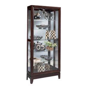 Urbane Lighted Curio Cabinet by Philip Reinisch Co.