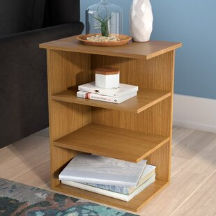 Galilee Modern 3 Shelf End Table