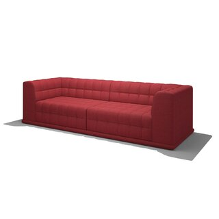 "Bump Left Hand Facing Bump 104"" Sectional by TrueModern SKU:CB226181 Information"