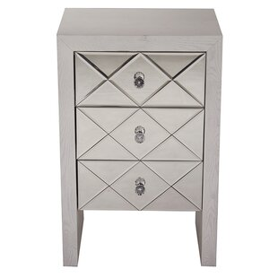 House of Hampton Tuley 3 Drawer Accent Chest