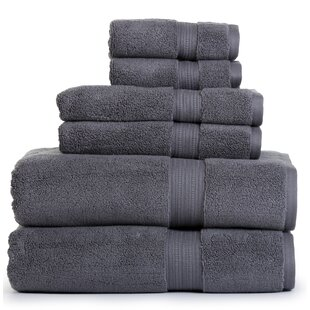Farnworth Zero Twist 6 Piece 100% Cotton Towel Set