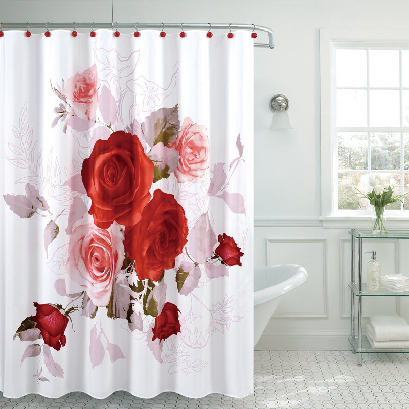 Daniels Bath Fancy Roses Shower Curtain Reviews