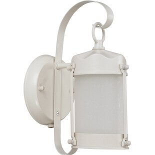 Sarmiento LED Outdoor Wall Lantern with Motion Sensor