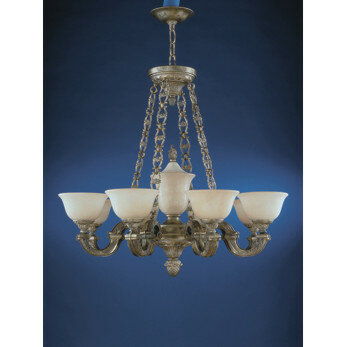 Zanin Lighting Inc Sevilla 9 Light Shaded Classic Traditional Chandelier Wayfair