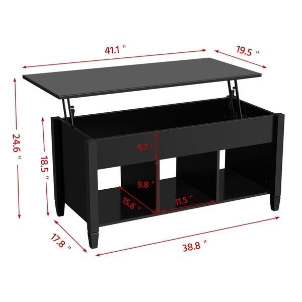 Ebern Designs Cannelton Lift Top Coffee Table Reviews Wayfair