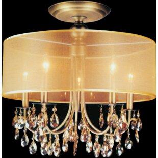 CWI Lighting 5-Light LED Flush Mount