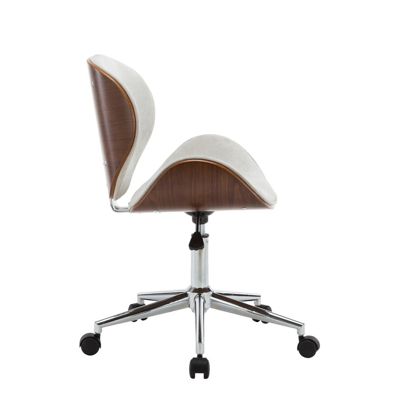 Bridport Adjule Office Low Back Drafting Chair