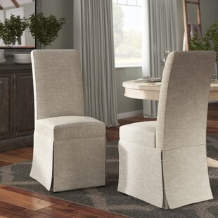 Motsinger Upholstered Dining Chair (Set of 2) by Lark Manor