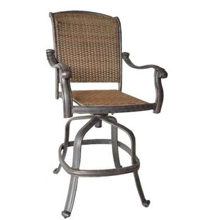 Darby Home Co Adela Patio Bar Stool
