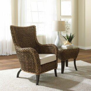Sanibel 2 Piece Wingback Chair Set by Panama Jack Sunroom