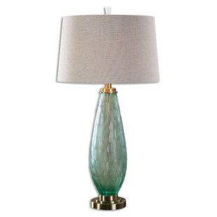 Reviews Lancaster 32.75 Table Lamp By Rosecliff Heights
