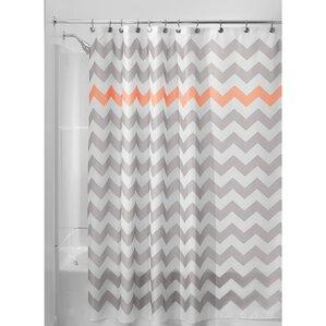 Orange Shower Curtains You\'ll Love | Wayfair