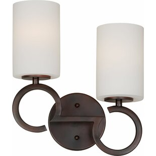 Mcmorrow 2-Light Vanity Light by Ebern Designs