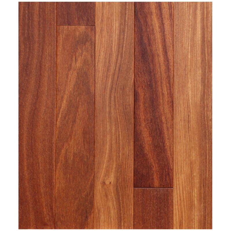 "Easoon USA 5"" Engineered Brazilian Teak Hardwood Flooring"
