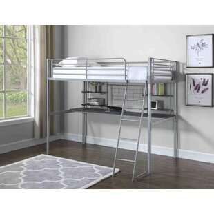 Arelious Twin over Twin Loft Bed