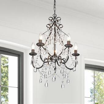Rosdorf Park Aren 5 Light Candle Style Classic Traditional Chandelier Reviews Wayfair