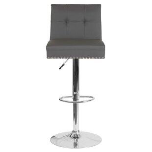 Blanco Adjustable Height Bar Stool by Mercer41
