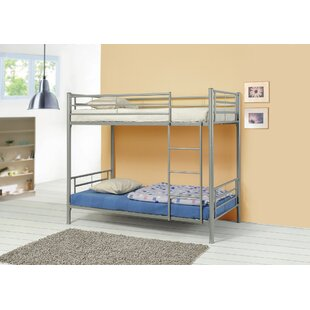 Almendarez Metal Twin Over Twin Bunk Configuration Bed by Harriet Bee