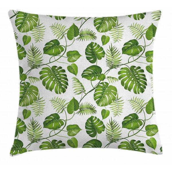 East Urban Home Leaf Indoor Outdoor 26 Throw Pillow Cover Wayfair