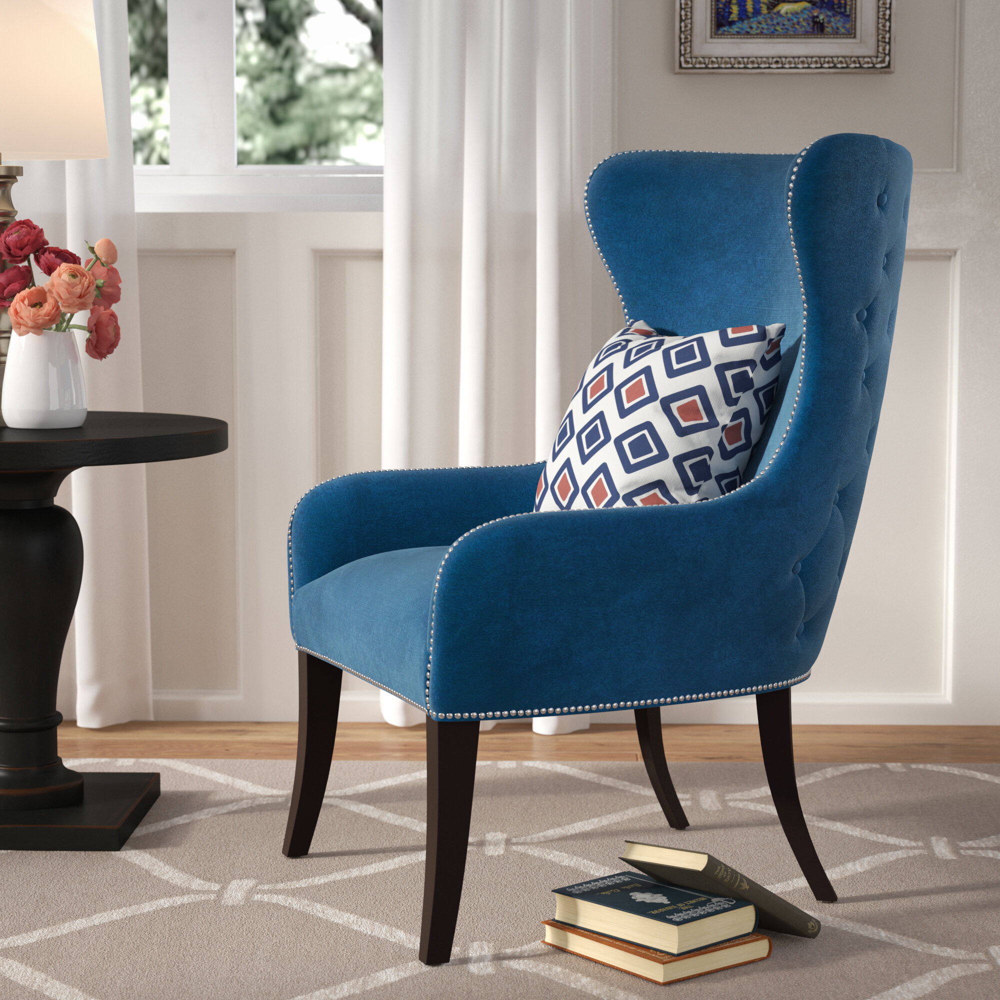 Red Barrel Studio Patrie Wingback Chair Reviews