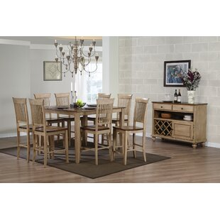 Loon Peak Huerfano Valley 10 Piece Dining Set