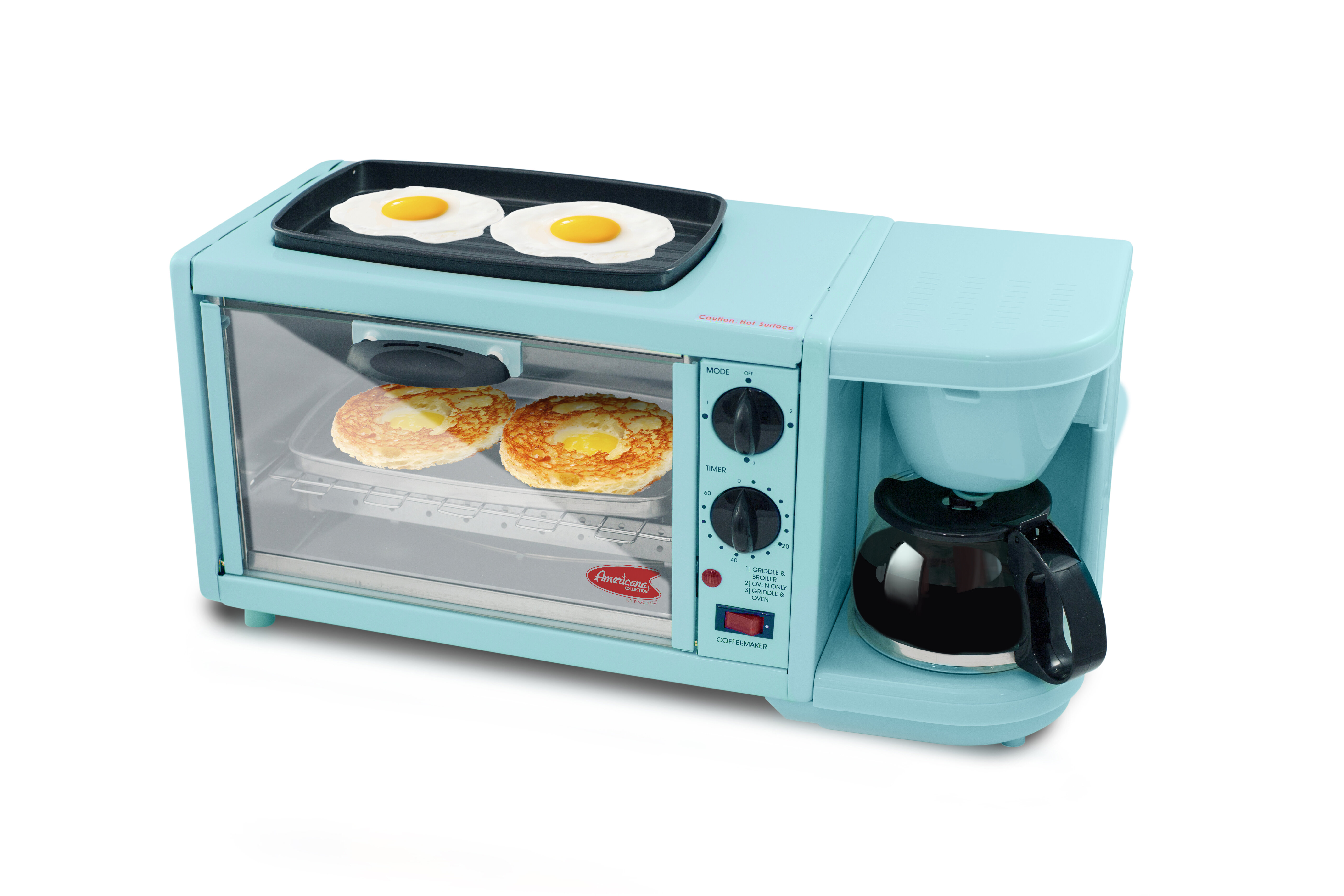 Elite by Maxi-Matic 3 in 1 Deluxe Breakfast Station & Reviews | Wayfair