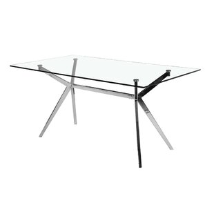 Purchase Paris Rectangle Modern Dining Table ByUptown Club
