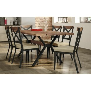 Darcelle 7 Piece Dining Set 17 Stories