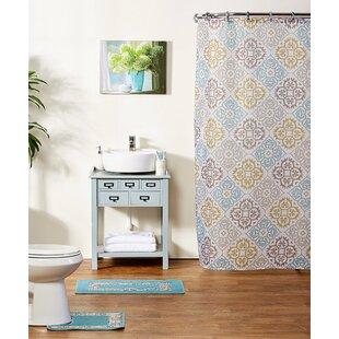 Order Shari 15-Piece Shower Curtain Set ByWinston Porter