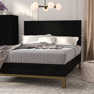 Buy luxury Rune Platform Bed by Mistana Reviews (2019) & Buyer's Guide