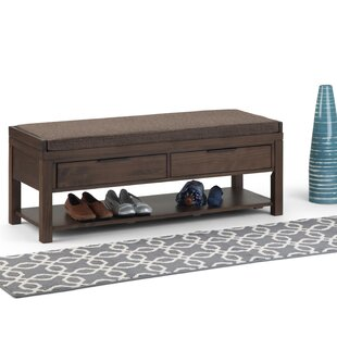 Mcadams Entryway Wood Storage Bench by Millwood Pines