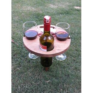 Freeport Park Essence Portable Outdoor Folding Chestnut Bistro Table