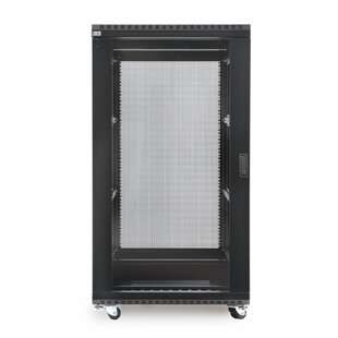 Linier Glass and Solid Doors Server Cabinet by Kendall Howard