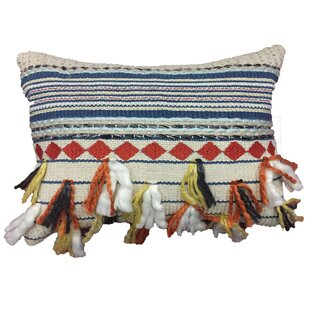 Manish Decorative Cotton Lumbar Pillow