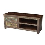 Cynthia Solid Wood TV Stand for TVs up to 55 by Breakwater Bay