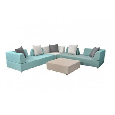 Denver 9 Pc Patio Sectional Set World Wide Wicker
