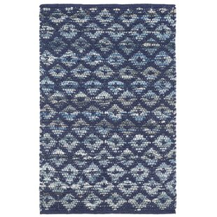 Denim Hand-Woven Indigo Area Rug by Dash and Albert Rugs