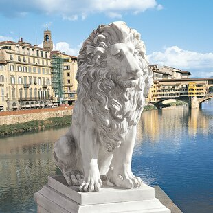 Design Toscano Lion of Florence Sentinel Statue