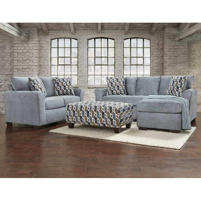 Paes 3 Piece Living Room Set