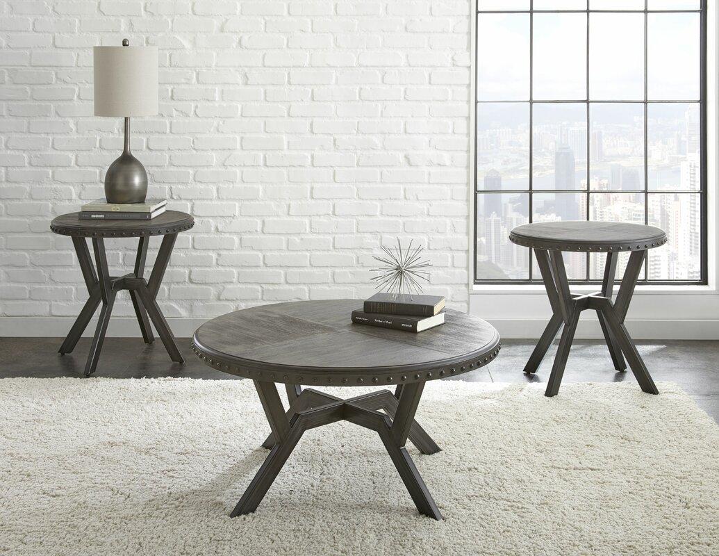 Lincklaen 2 Piece Coffee Table Set