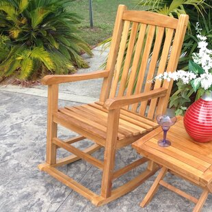 Teak Rocking Chair